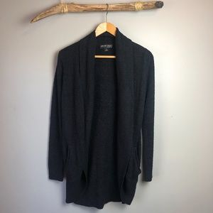 Barefoot Dreams Black CozyChic Lite Knit Cardigan